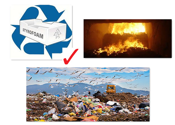 foam recycling: Talking about several ways of Styrofoam fish boxes
