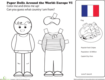 International Paper Dolls | Munchkins and Mayhem