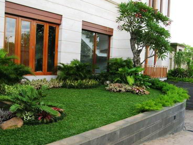 Desain Taman Kecil Minimalis Depan Rumah