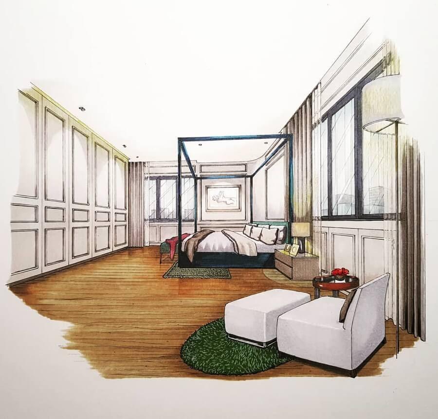 12-Master-Bedroom-four-poster-bed-Tama-Vajrabukka-www-designstack-co