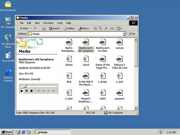 Tampilan Windows 2000 | Gaptogeek