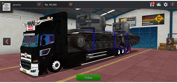 download mod bussid truck hino 500 tangki