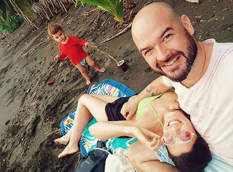 Renato del Valle tiene nueva vida en un paraíso de selva y playa