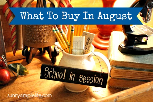 back to school, what to buy in August