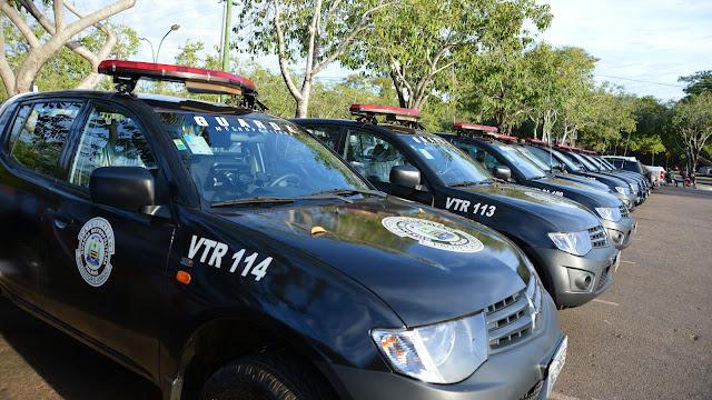 Guarda Metropolitana de Palmas (TO) recebe 11 novas viaturas com tecnologia GM Mobile
