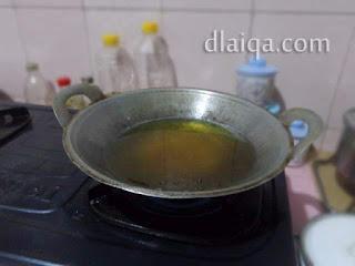 siapkan penggorengan