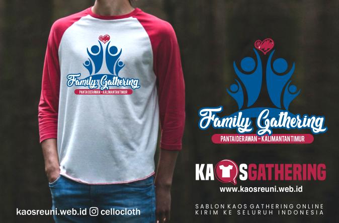 Pantai Derawan Employee Gathering  - Kaos Family Gathering - Kaos Employe Gathering