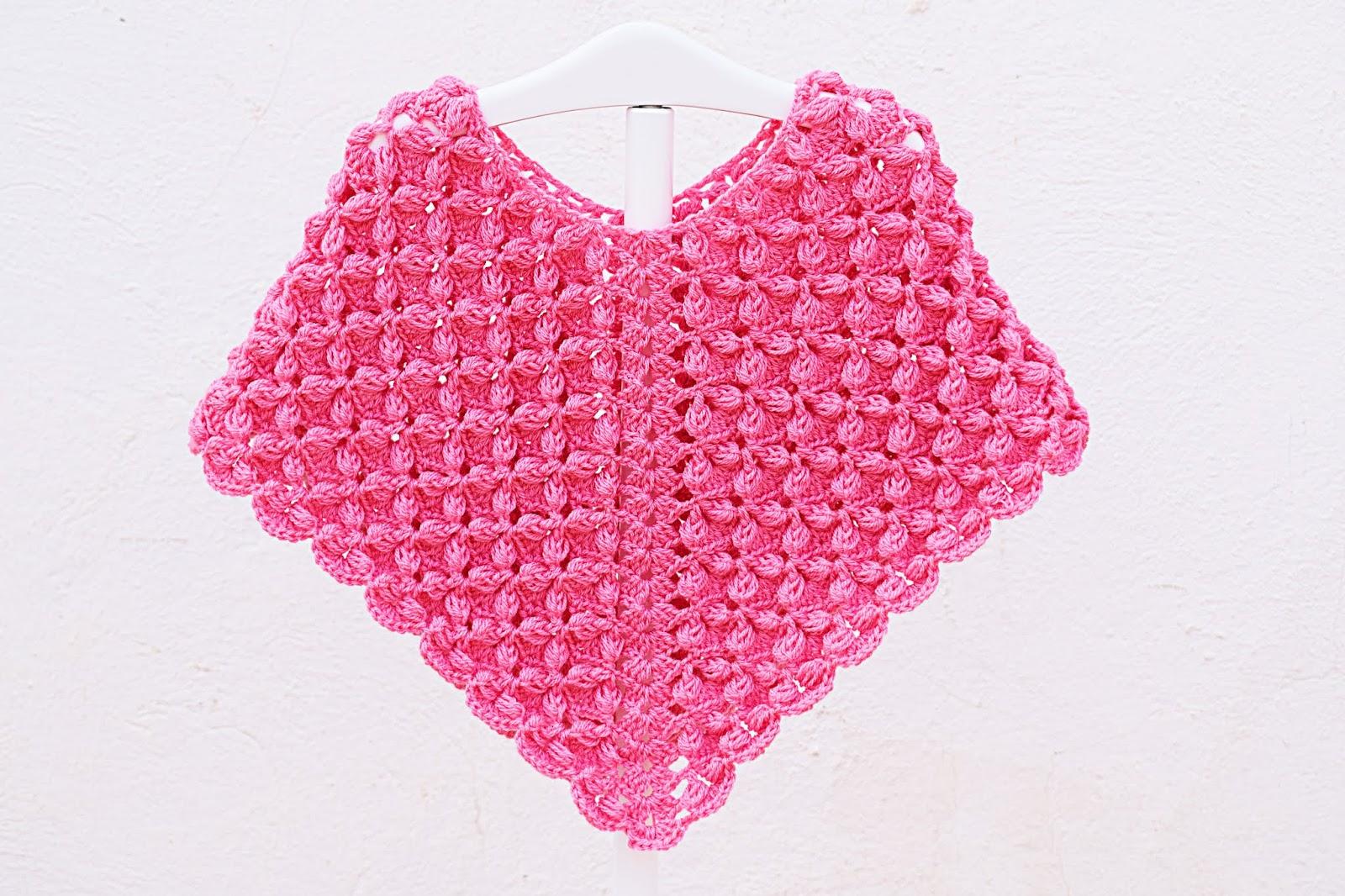 Hermoso poncho a crochet, muy fácil y sencillo. Paso a paso.