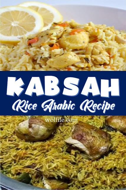 Kabsah Arabic Rice Recipe