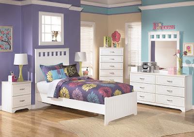 girls' twin bedroom set