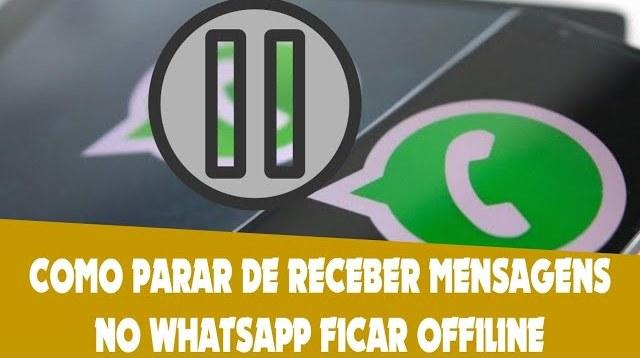 Como dar um tempo no WhatsApp e ficar sem receber mensagens