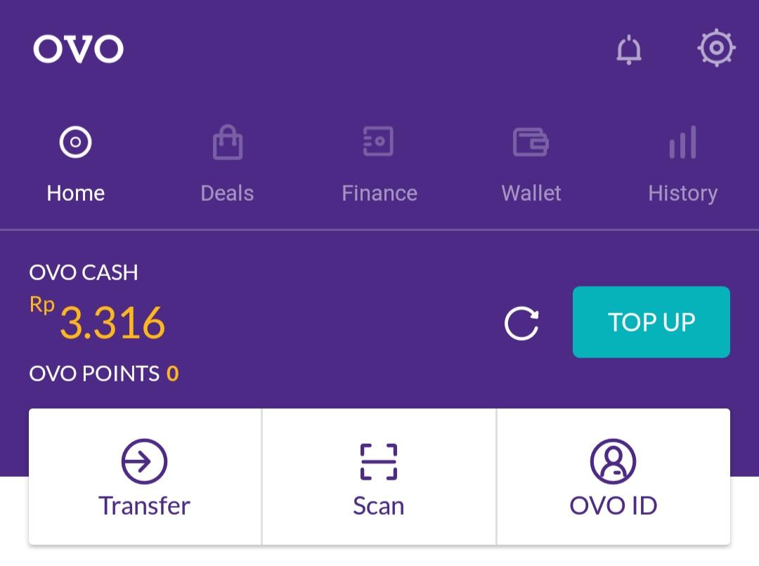 Cara Top Up Saldo OVO via SMS Banking BRI