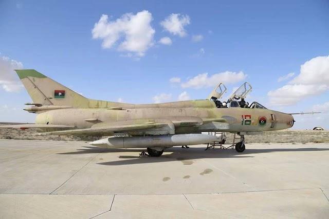 3 aviões Sukhoi-22 dos rebeldes libios sao abatidos