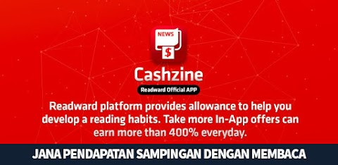 Buat Duit Dengan Aplikasi Cashzine