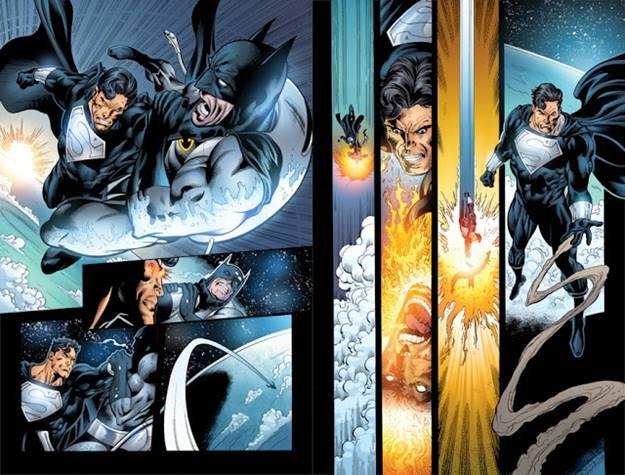 Superman Prime venció a Batman en otro universo