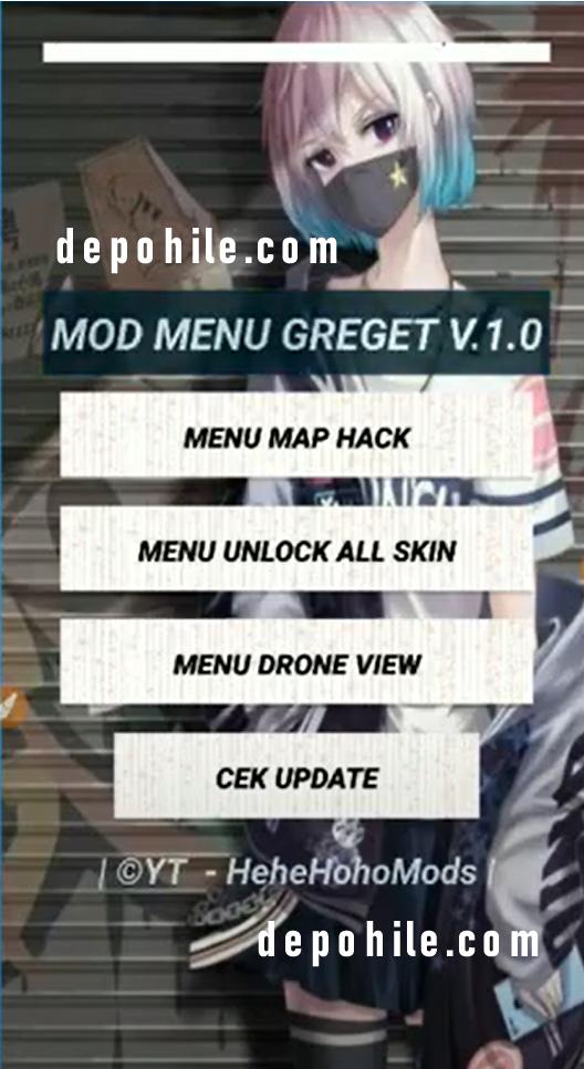 Mobile Legends Greget v1 Skin ve Map Hilesi Rootsuz Apk 2020