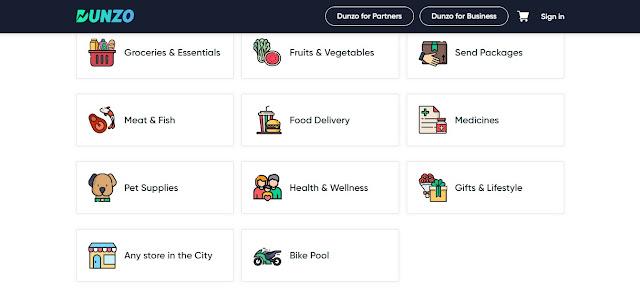 Dunzo App क्या है। कैसे इससे जुड़ कर आप कमाई कर सकते है।