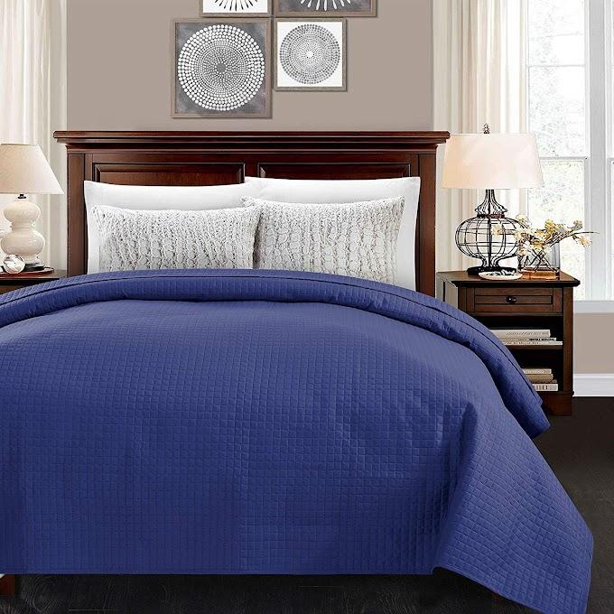AMAZON - 30% OFF Lightweight Classic Pattern Comforter Bedspread Coverlet Blanket