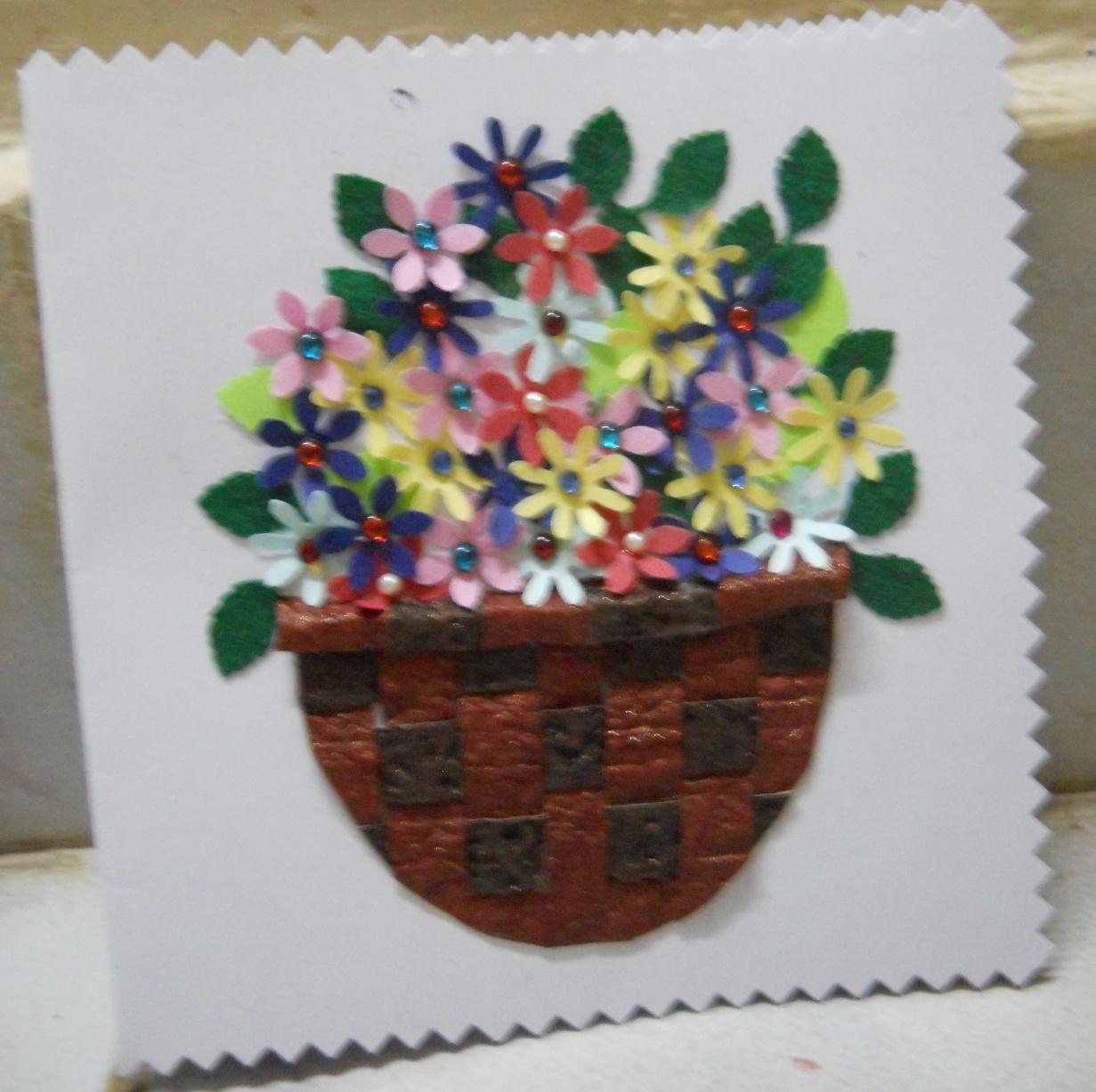 Bhuvana S Creative World Greeting Card Making
