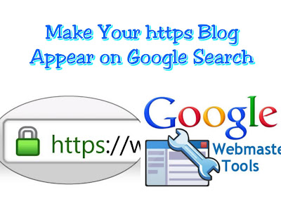 https blog and google webmaster