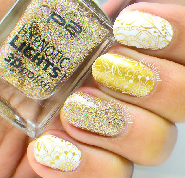holo glitter nail polish