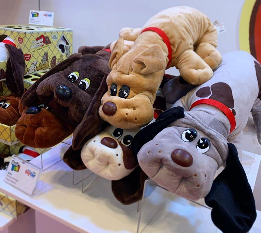Ретро-игрушки мягкие собачки Classic Pound Puppies серия 2 новинки игрушек 2020