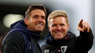 Bournemouth will consider Jason Tindall as Eddie Howe successor