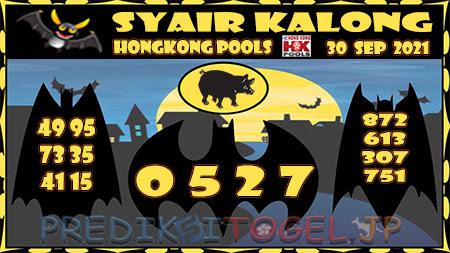 Kalong HK Kamis 30 September 2021 -