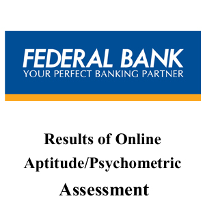 Federal Bank Officer Scale - I Result