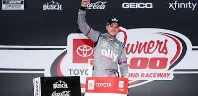 Alex Bowman Steals Victory from Denny Hamlin in Toyota Owners 400 at Richmond Raceway