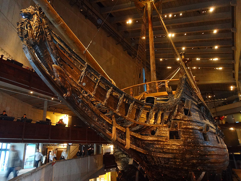 Vasa in the Vasa Museum