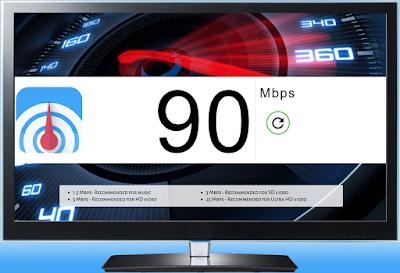 Speedcast chromecast test