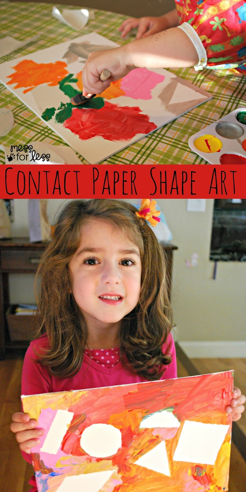 Contact Paper Shape Art Mess For Less
