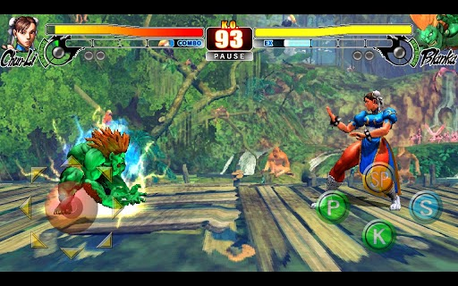 Android street fighter