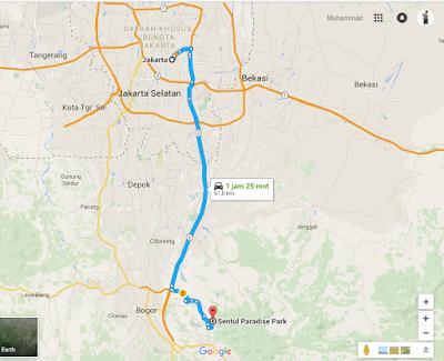 akses Air Terjun Bidadari di Bogor