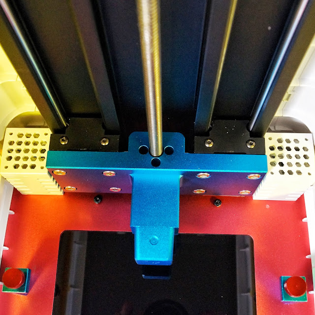 3D принтер Photon AnyCubic. Механизм перемещения платформы.