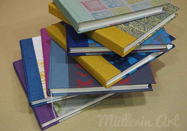 Bunte Bücher © Müllerin Art