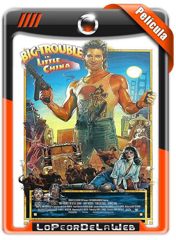 John Carpenter's Big Trouble in Little China (1986) FULL HD