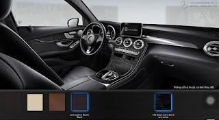 Nội thất Mercedes GLC 300 4MATIC 2017 màu Đen 211