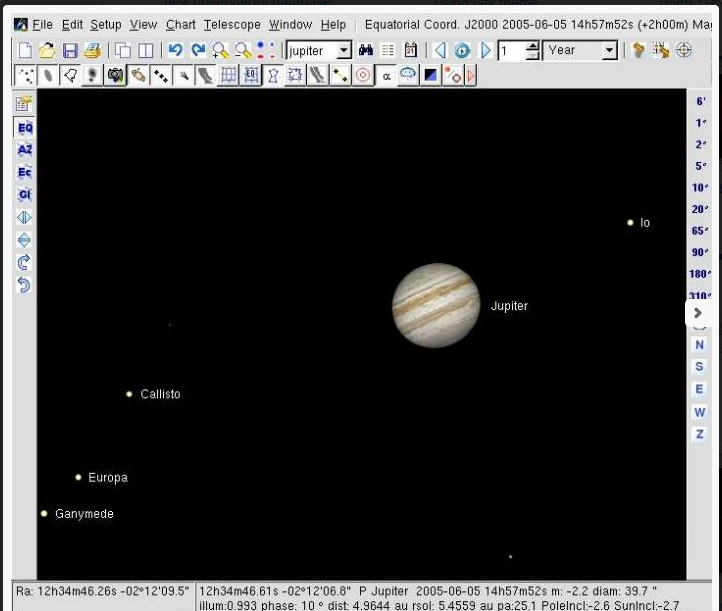 برنامج هام جداً لرسم الخرائط الفلكية للأجرام السماوية وعلم الفضاء Cartes du Ciel 3.8