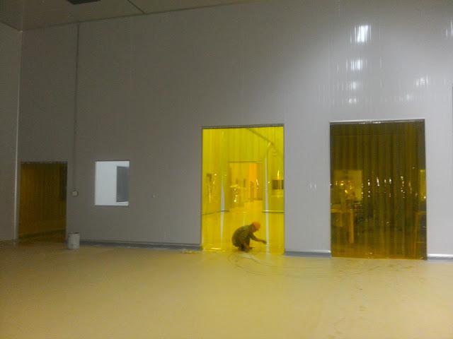 Một sô hình ảnh công trình về màn nhựa pvc Naviflex