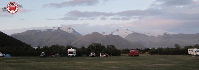 Camping del Parque Nacional de Skaftafell