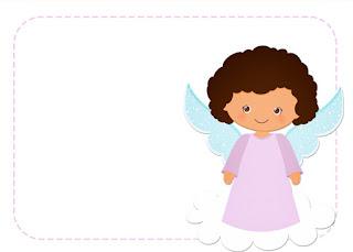 Para hacer invitaciones, tarjetas, marcos de fotos o etiquetas, para imprimir gratis de Angelita Morena.
