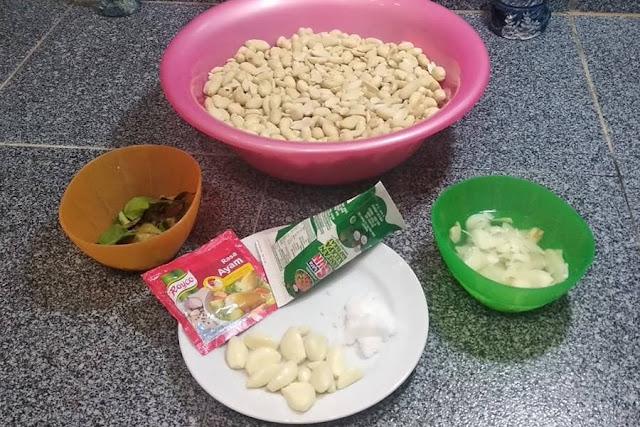 bahan kacang bawang