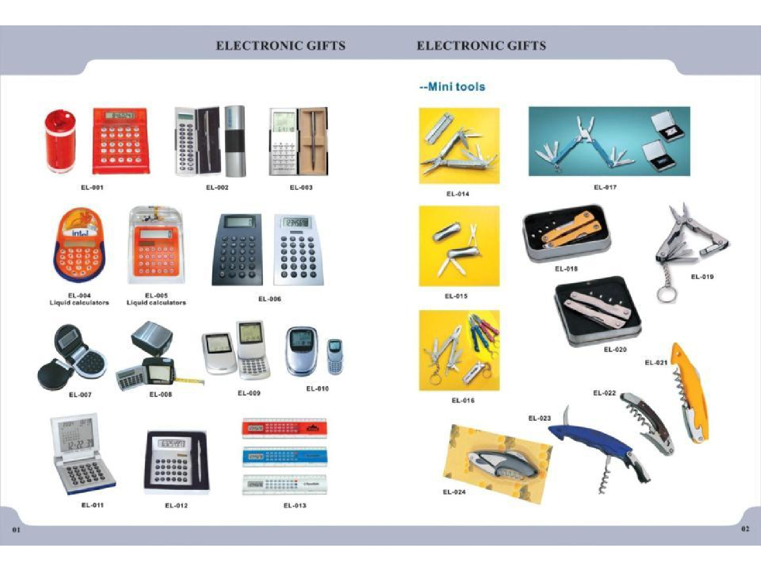 Business Gifts by Karam Advertising: Electronics and Tools Catalogue