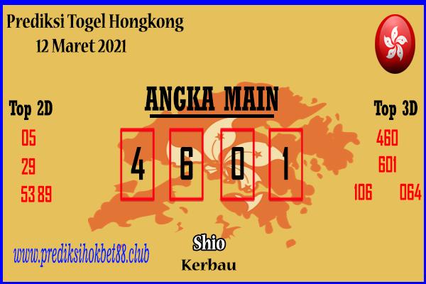 Bocoran Hongkong 12 Maret 2021