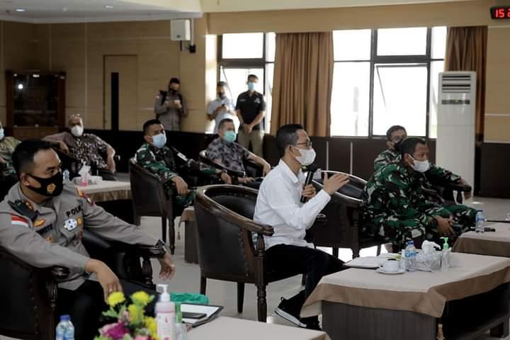 Wakil Wali Kota Amsakar Sampaikan Empat Poin Penting Prihal Penanganan Covid-19 di Batam