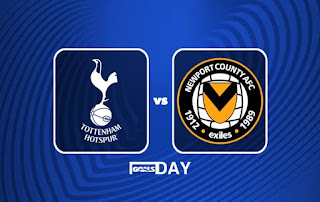 Tottenham vs Newport – Highlights