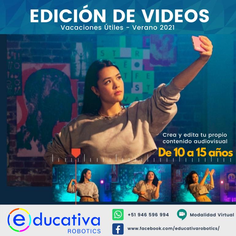 Aprende a crear y editar tus propios vídeos