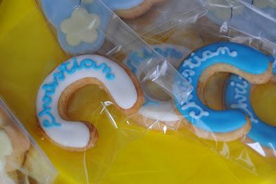 biscotti, sweet taable e altre idee per festeggiare una nascita